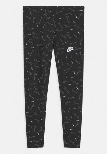FAVORITES - Leggings - Trousers - black/white