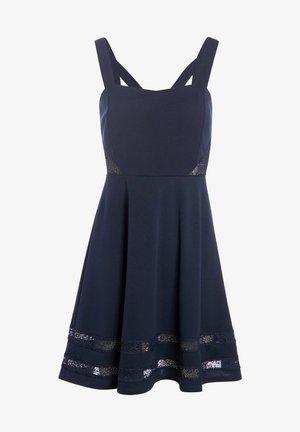 MIT TRÄGERN - Day dress - bleu marine