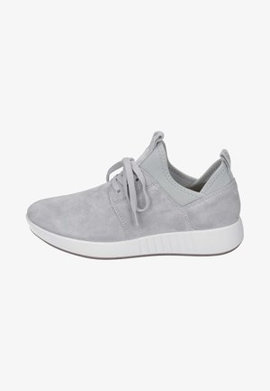 Korkeavartiset tennarit - light grey