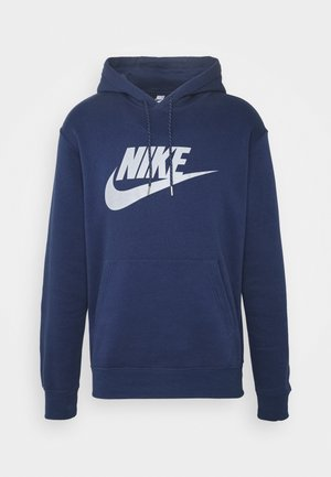 HOODIE - Bluza z kapturem - midnight navy/(reflective)