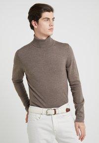 Anderson's - BELT - Braided belt - off white - 1