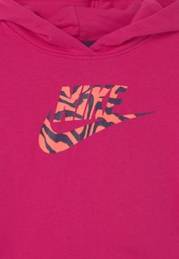 Nike Sportswear - CROP HOODIE  - Bluza - fireberry - 2