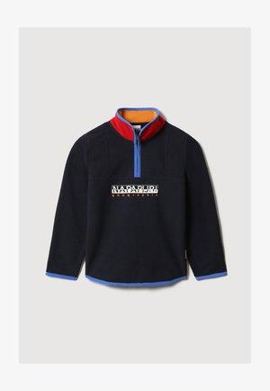 TILO - Fleece jumper - blu marine