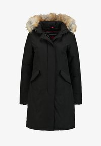 Canadian Classics - FUNDY BAY LONG FAKE FUR - Down coat - black - 5