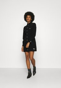 Tommy Jeans - FITTED DRESS - Shirt dress - black - 1