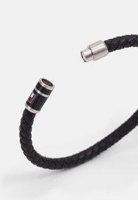 Tommy Hilfiger - BRUSHED BEADED BRACELET - Bracelet - black - 1