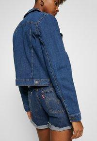 Vero Moda - VMULRIKKA JACKET MIX  - Denim jacket - medium blue denim - 5