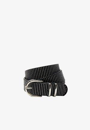 MIT STRASS  - Belt - black