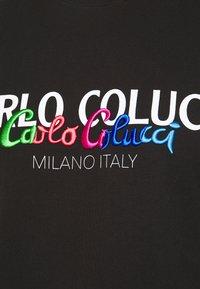 Carlo Colucci - Print T-shirt - schwarz - 5