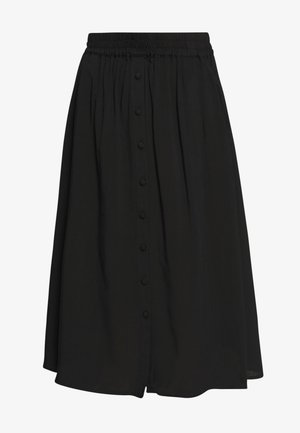 RADIA  - A-line skirt - black