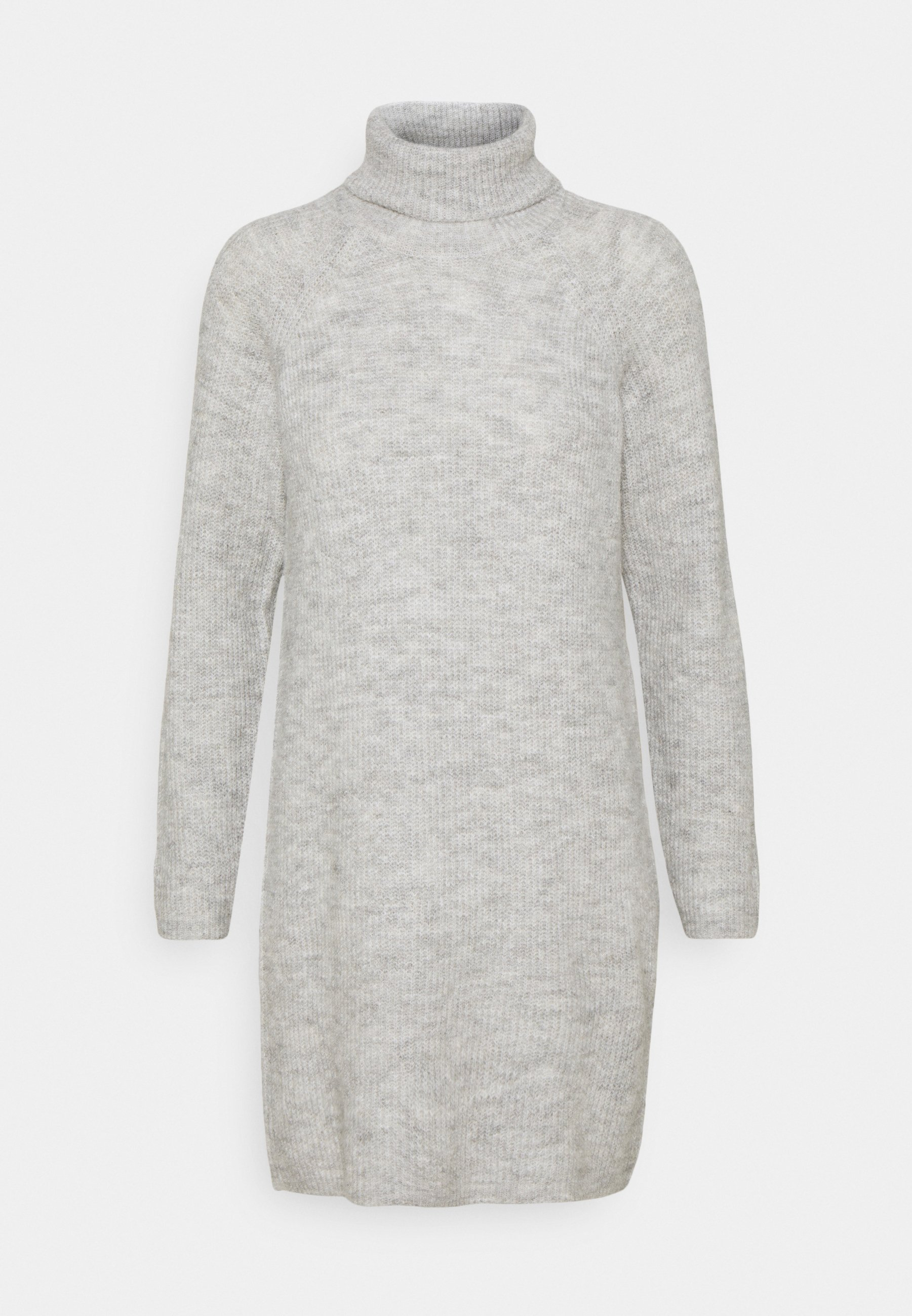 Mujer PCELLENHIGH NECK DRESS - Vestido de punto