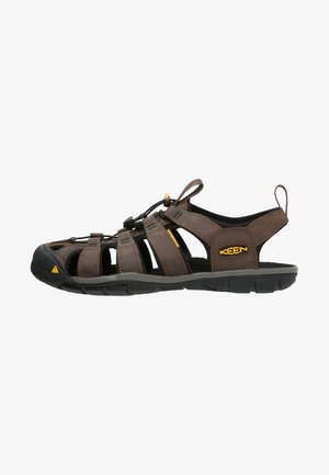 CLEARWATER CNX - Walking sandals - dark earth/black