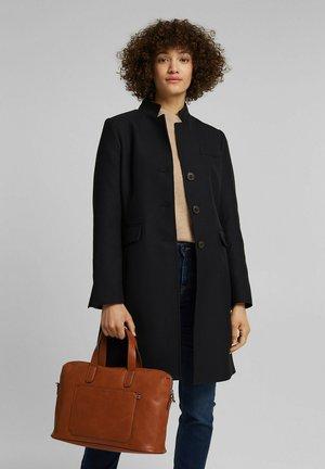 Briefcase - rust brown