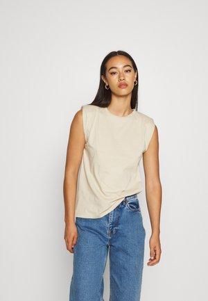 IMMA - Basic T-shirt - taupe