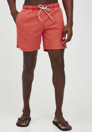 Swimming shorts - mandarin red