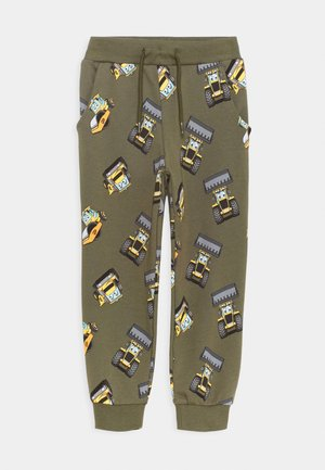 NMMJCB CUMI PANTS  - Tracksuit bottoms - ivy green