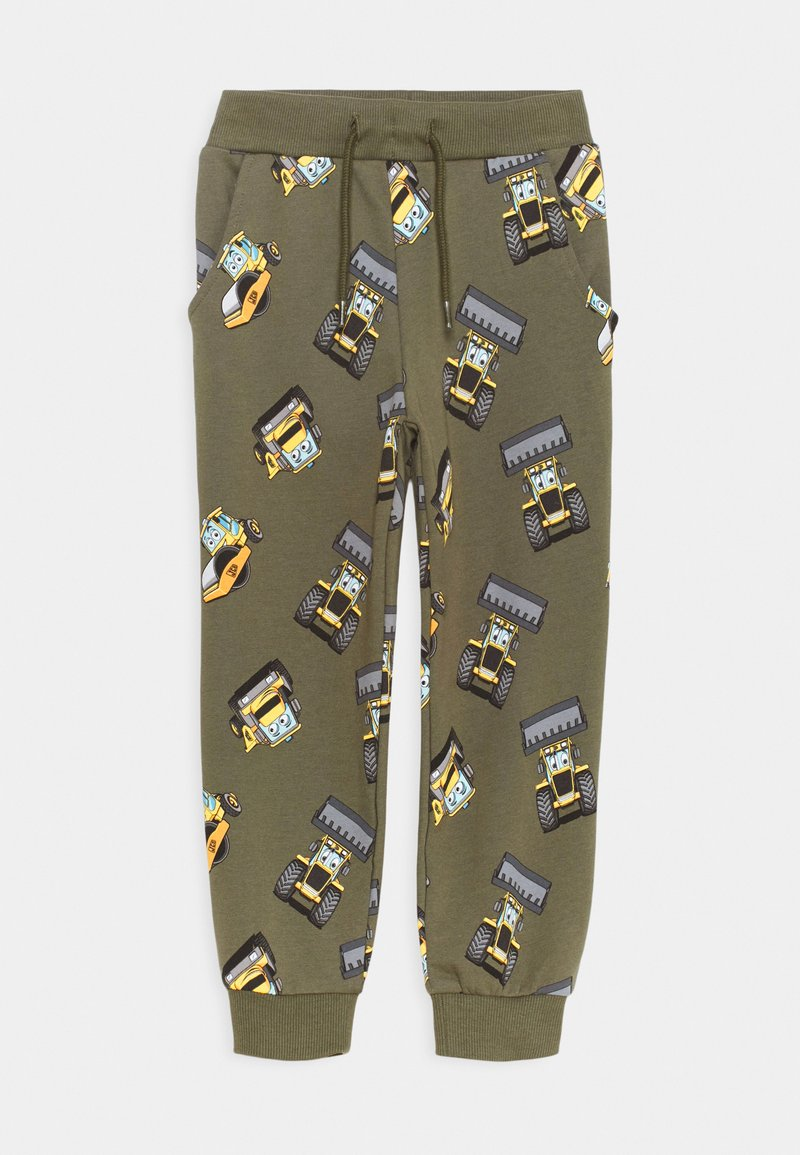 Name it - NMMJCB CUMI PANTS  - Tracksuit bottoms - ivy green