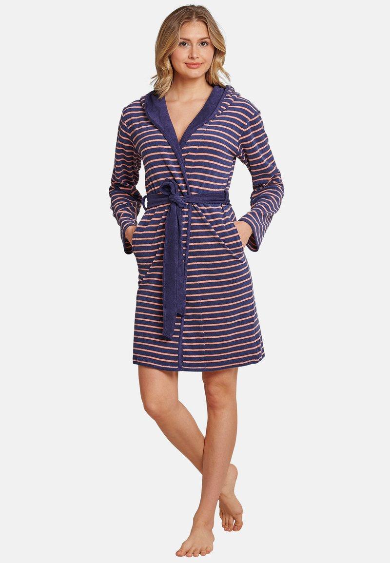 Schiesser - Dressing gown - blau