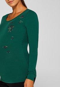 Esprit Maternity - Long sleeved top - bottle green - 3