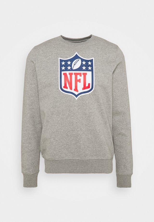 NFL MID ESSENTIALSPRIMARY COLOUR LOGO GRAPHIC CREW - Felpa - sports grey