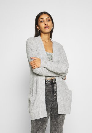 MEGAN  - Cardigan - cloud dancer/black