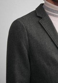 Falconeri - BLAZER AUS KASCHMIRJERSEY - Blazer jacket - grey - 5