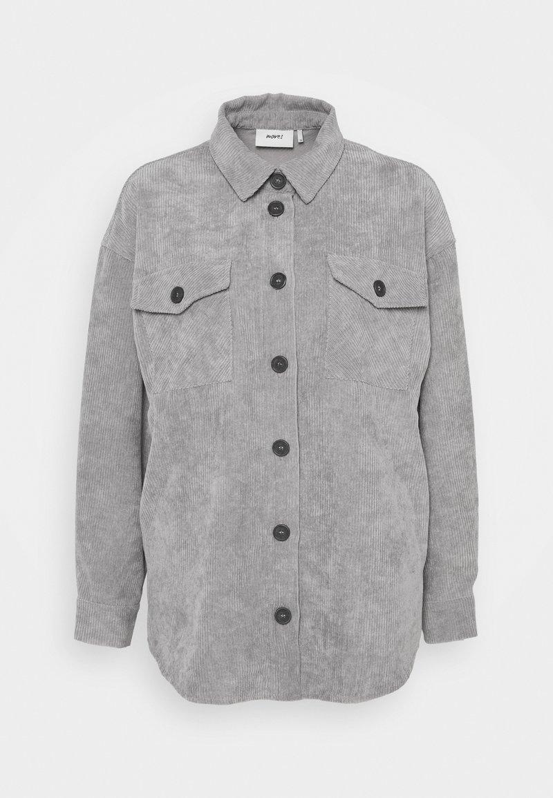 Moves - SAVISA - Button-down blouse - grey