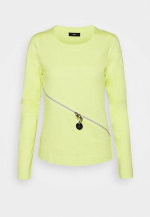 T-CUTTER-LS - Long sleeved top - lemon