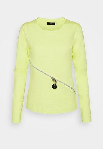 T-CUTTER-LS - Long sleeved top - lemon