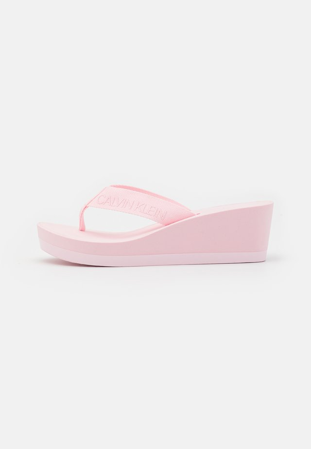 BEACH WEDGE PADDED - Teensandalen - pearly pink