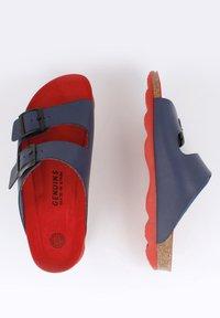 Genuins - HAWAII VACHETTA - Sandals - navy - 1