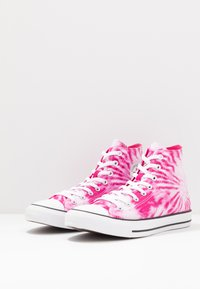 Converse - CHUCK TAYLOR ALL STAR - High-top trainers - cerise pink/game royal/white - 2