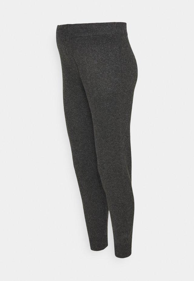 PCMSALSA  PANTS - Pantalones - dark grey melange