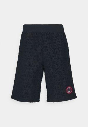 RETRO TOWELLING TRACK SHORT - Pantaloni del pigiama - desert sky