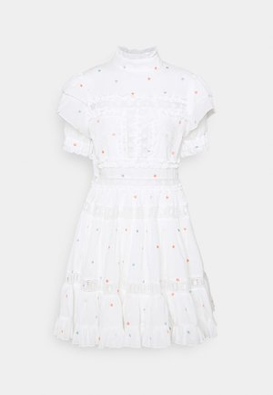 IRO DRESS - Korte jurk - white