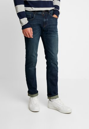 HOUSTON - Straight leg jeans - stone blue denim