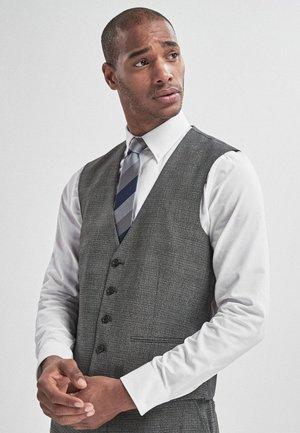 Suit waistcoat - mottled grey