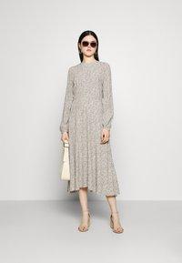 YAS - YASLICURA MIDI DRESS - Day dress - shadow - 1