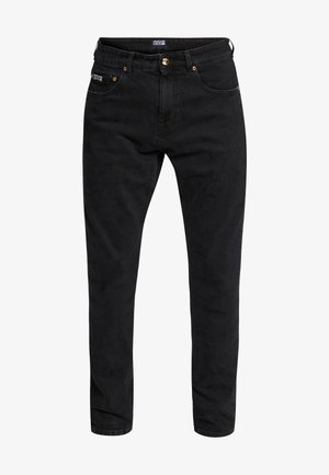 MILANO JUNGLE BACK POCKET - Vaqueros slim fit - black