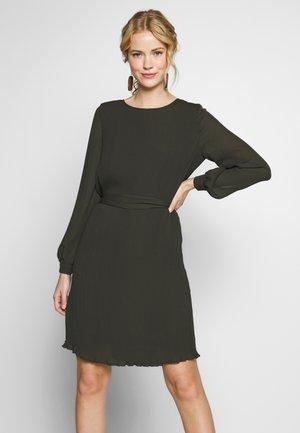 DRESS - Day dress - dark leaf