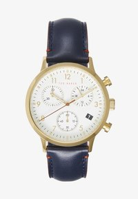 Ted Baker - COSMOP - Hodinky se stopkami - blue/gold-coloured/white - 0