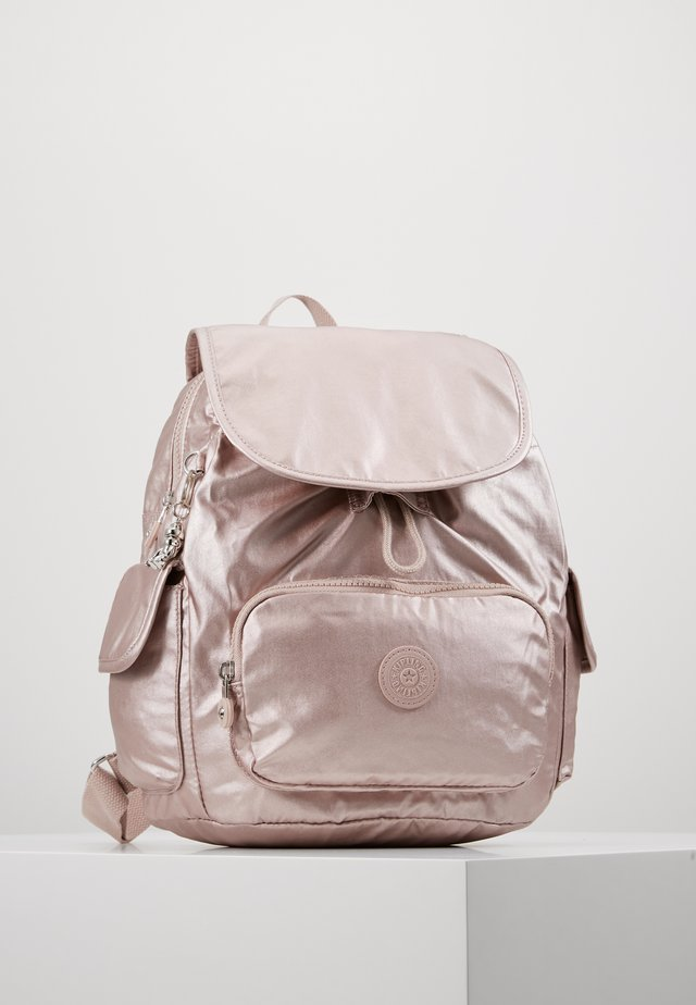 CITY PACK S - Rucksack - metallic rose