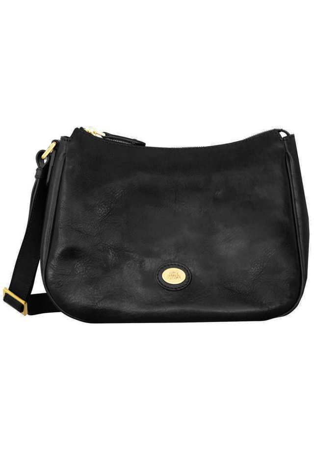 STORY DONNA - Across body bag - nero-goldfarben