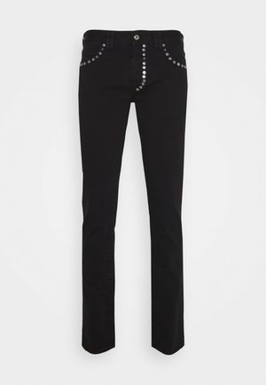 PANTALONE - Vaqueros slim fit - black
