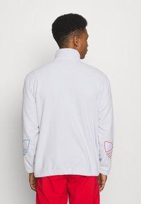 adidas Originals - TRICOL UNISEX - Felpa in pile - white - 2