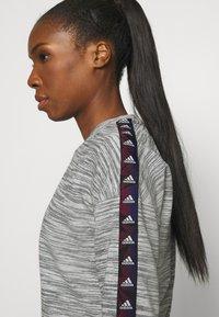 adidas Performance - Sweatshirt - medium grey heather/black - 4