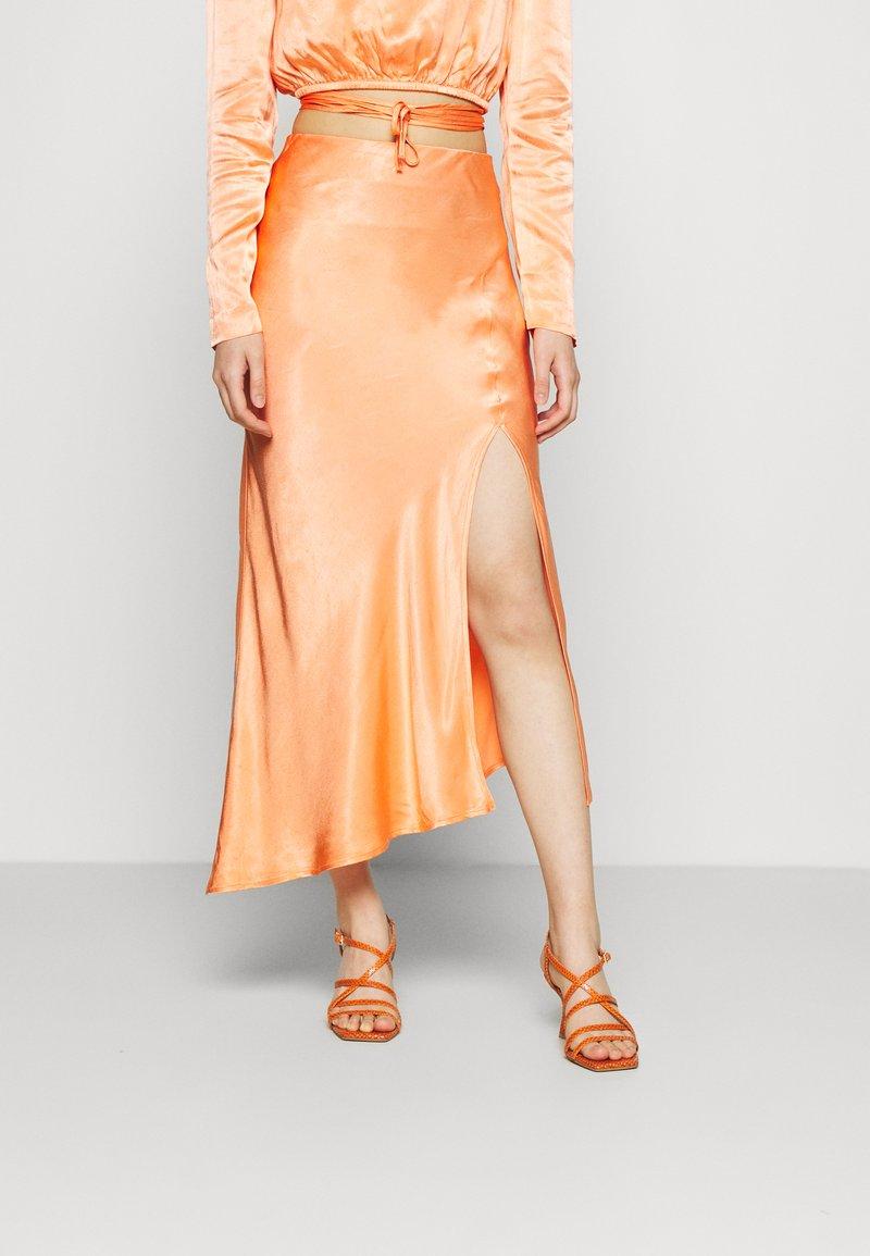 Mossman - CRAZY FOR YOU SKIRT - Maxi skirt - peach
