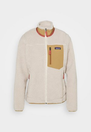 CLASSIC RETRO - Fleece jacket - natural/nest brown