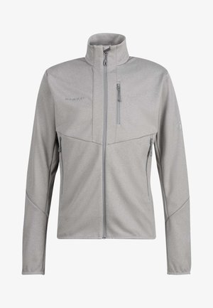 Soft shell jacket - granit melange