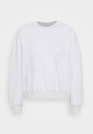 YOUR FAVOURITE CREW - Sweatshirt - silver marle